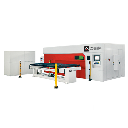 Alpha Lazer Fiber SL Fiber Laser Cutting Machine