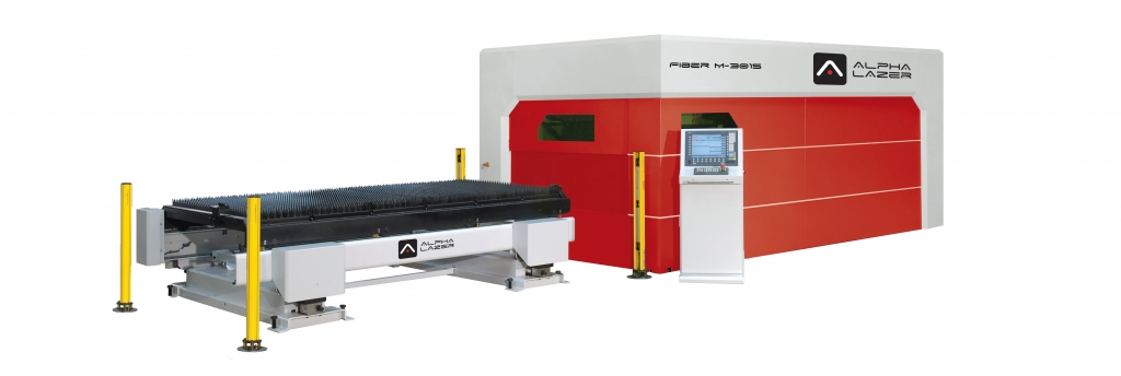 Alpha Lazer Cutting Machine - Fiber M 3015