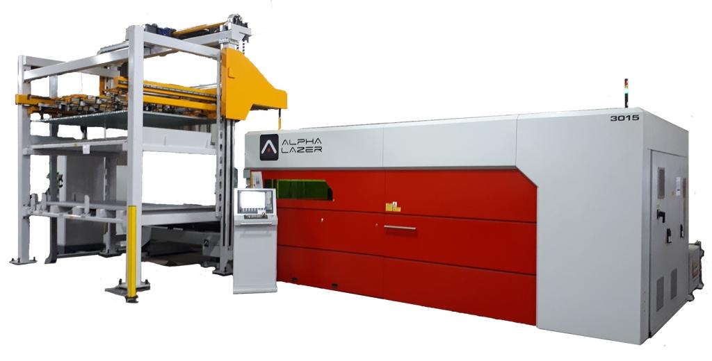 Alpha Lazer Automation Fiber Laser Cuttin Machine