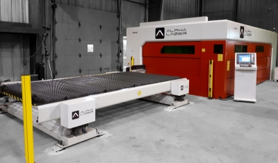 Alpha Lazer Fiber Laser Cutting Machine